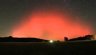 october 24 auroras seen in half of states