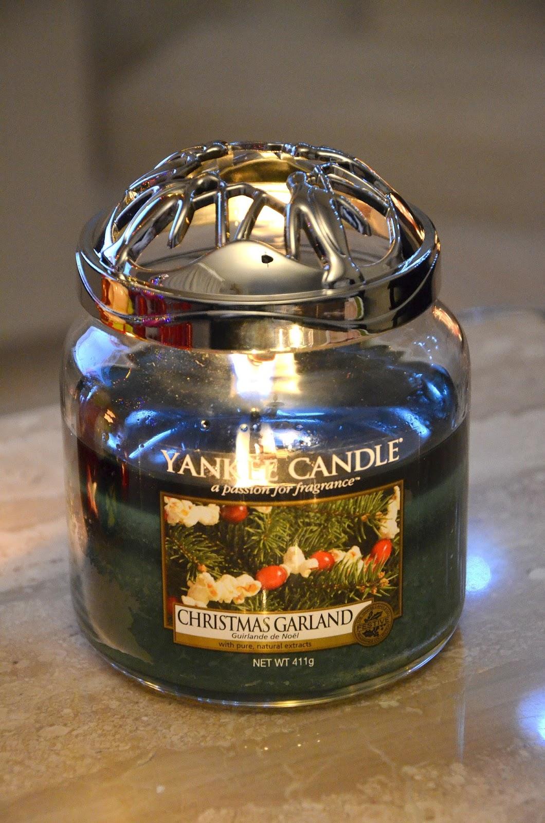yankee candle christmas garlande guirlande de Noël