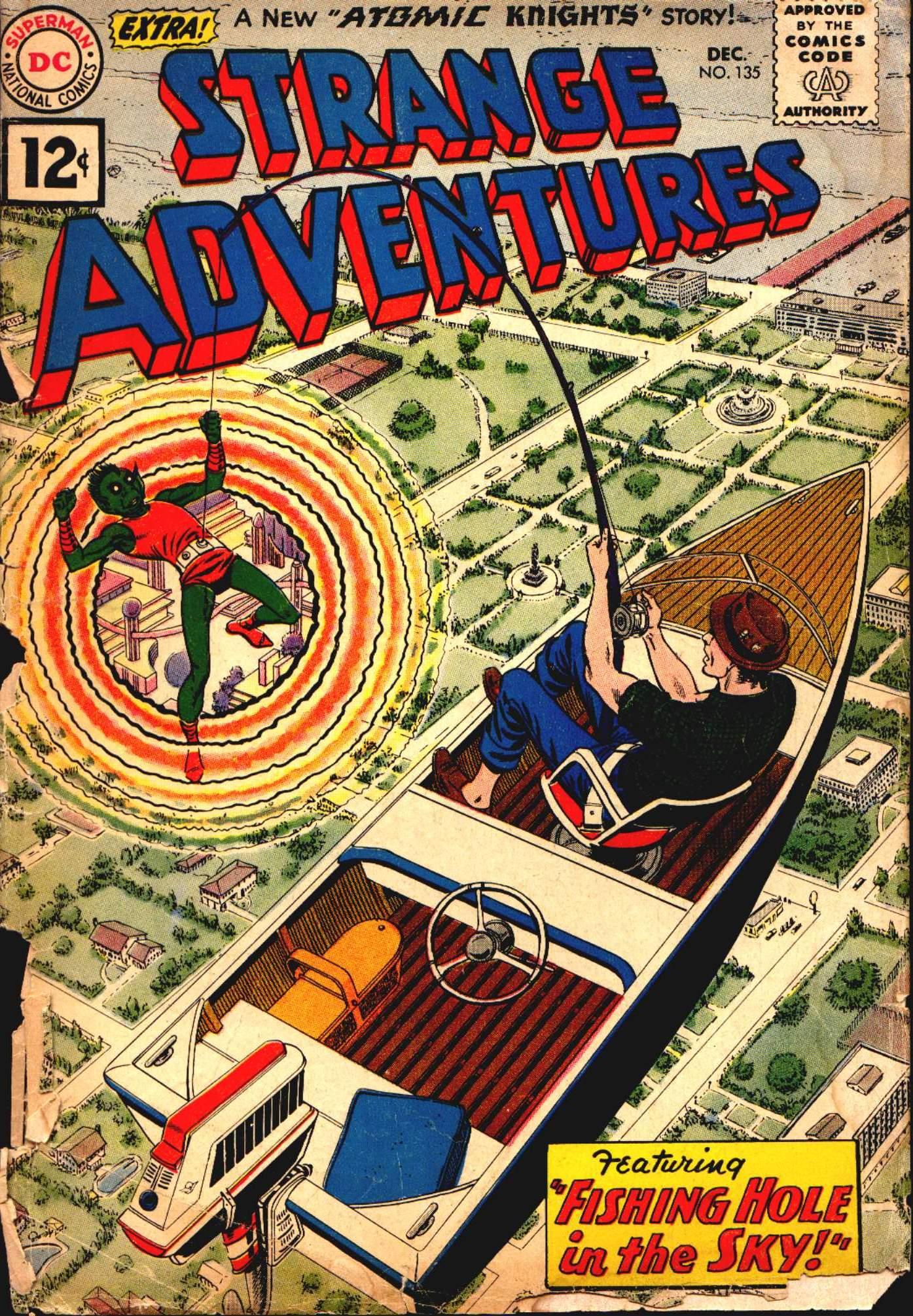 Strange Adventures (1950) issue 135 - Page 1
