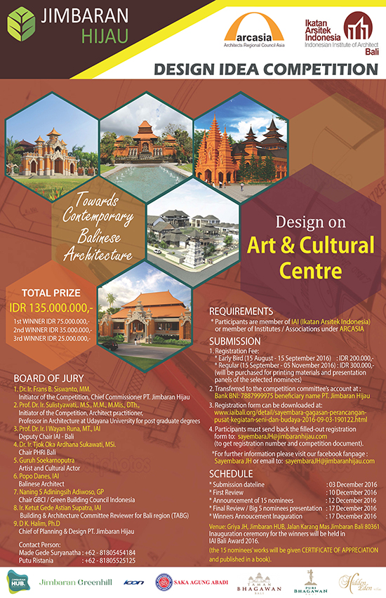 ARTS AND CULTURAL CENTER DESIGN COMPETITION ASEAN Daily
