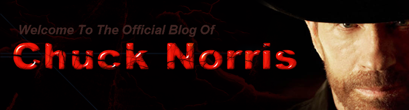 The Official Chuck Norris Blog