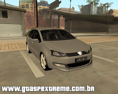 Vw Polo 2011 Europeu para grand theft auto