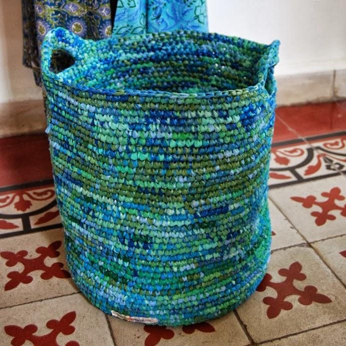artesanato com sacolas plásticas