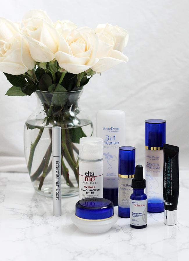 Skinecare routine steps