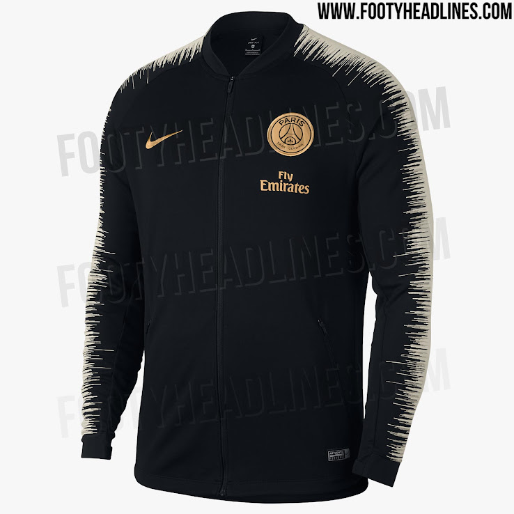 a800ba53374 ... Nike Paris Saint-Germain 2018-2019 away jersey jacket. +1. 2 of 2. 1 of  2