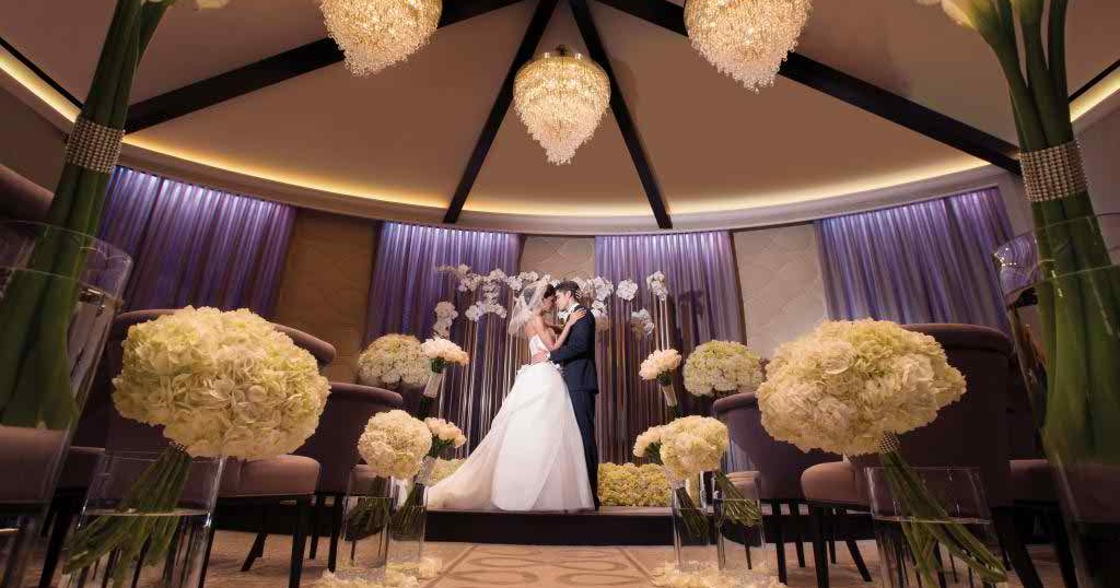 Aria resort casino in las vegas sponsored post the for Aria wedding chapel