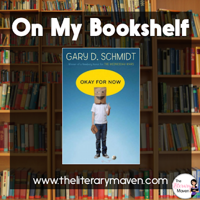 In Okay for Now by Gary Schmidt, Doug is a fourteen year old boy with seemingly endless problems, both at school and at home. When he moves to a new town his troubles don't end, but he makes some new friends that make it all a little more bearable. Read on for more of my review and ideas for classroom use.