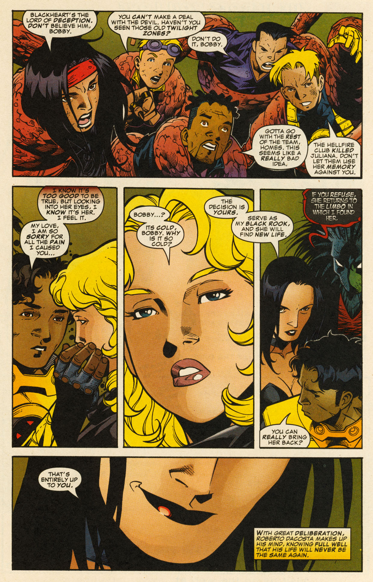Read online X-Force (1991) comic -  Issue #98 - 37