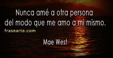 Frases de amor – Mae West