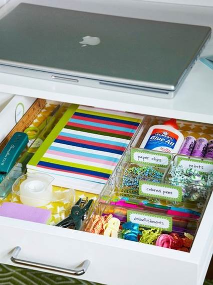 Tips For Keeping Order In The Studio, Keeping Clean And Organized 2