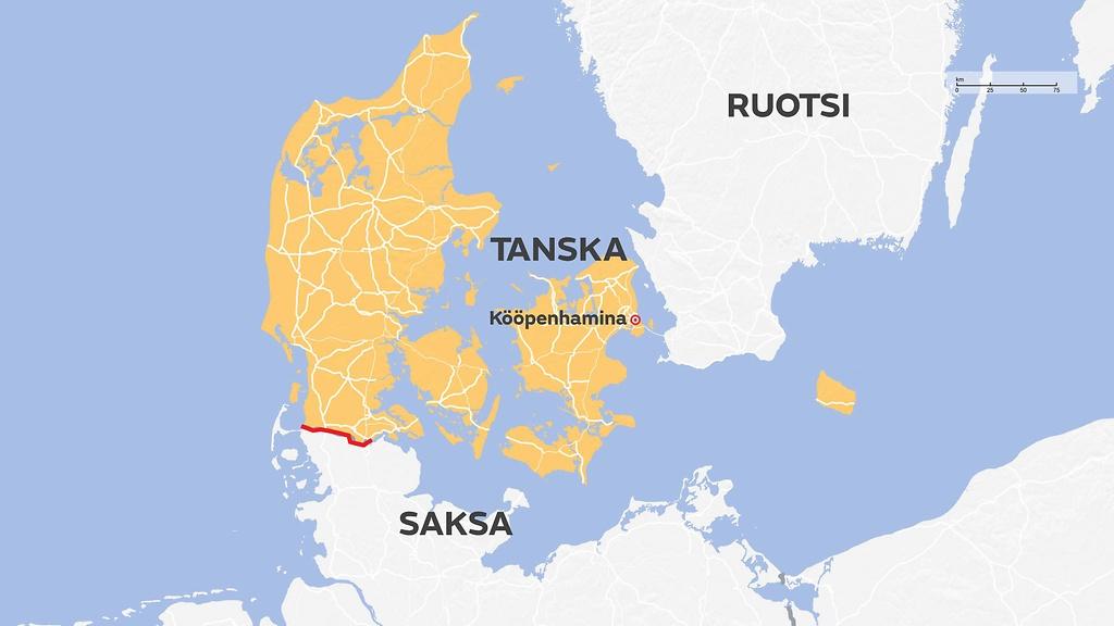 Helsingista Tanskaan