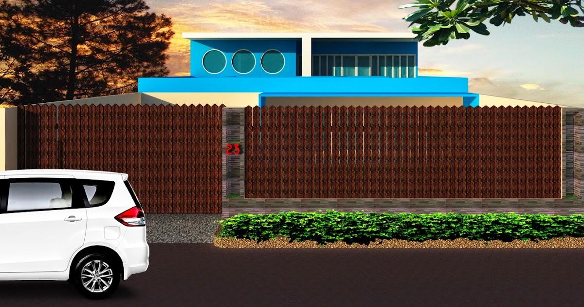 Desain Rumah Mewah Modern 2 Lantai Bentuk Kapal | Griya ...