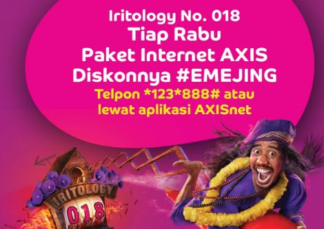 Paket Internet Murah AXIS Unlimited