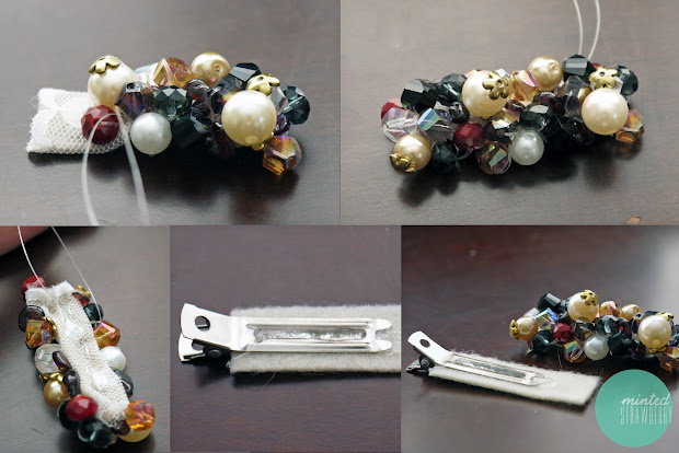 Diy Anthropologie Inspired Jeweled Hair Clip - Minted