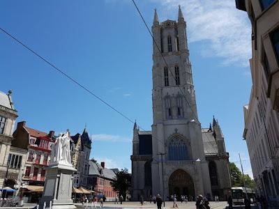 La catedral de San Bavón, en Gante