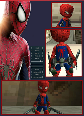 Spiderman Skin AOTTG