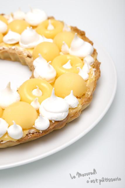 Tarte au citron meringuée originale