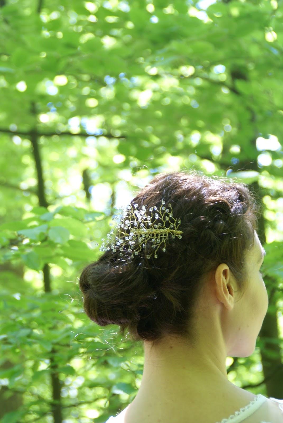 Ślubny grzebyk do włosów - jak zrobić go samodzielnie?