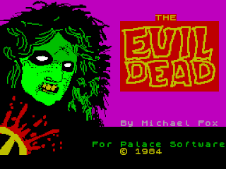Videojuego The Evil Dead - Commodore 64