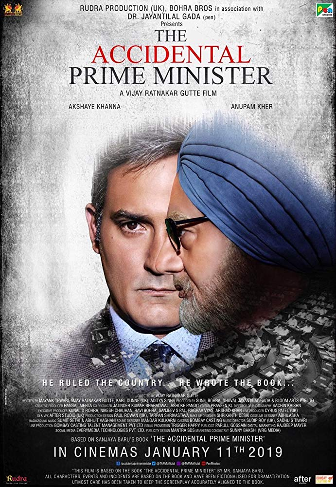 The Accidental Prime Minister (2019) Hindi 300MB WEB-DL 480p x264