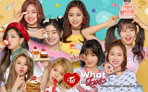 Twice - What Is Love? Lirik