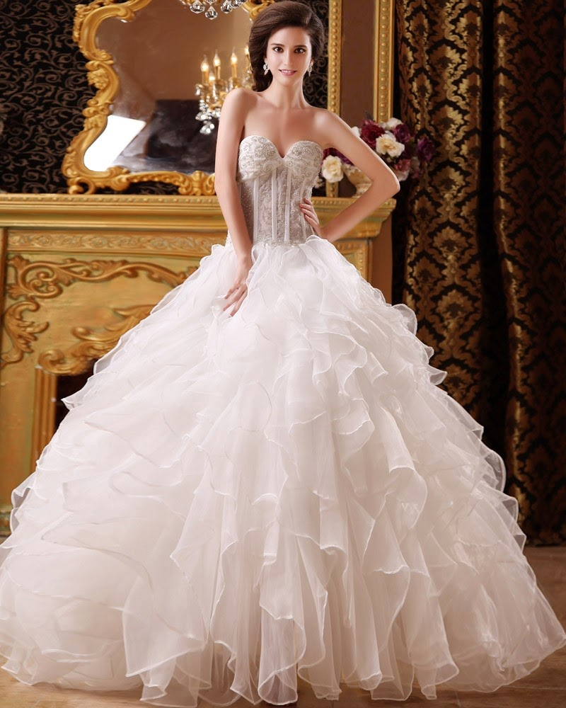 Cinderella Fairy Tale Bridal Ballgown