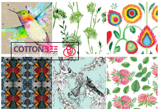 cottonbee-materiał