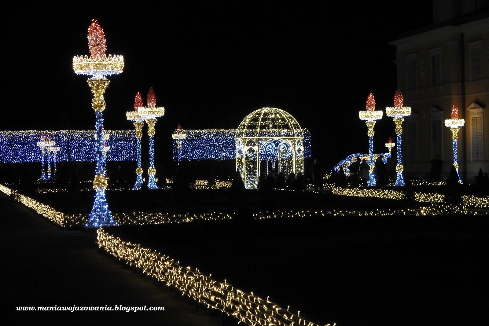 Mania Wojażowania Iluminacje świąteczne W Warszawie I W