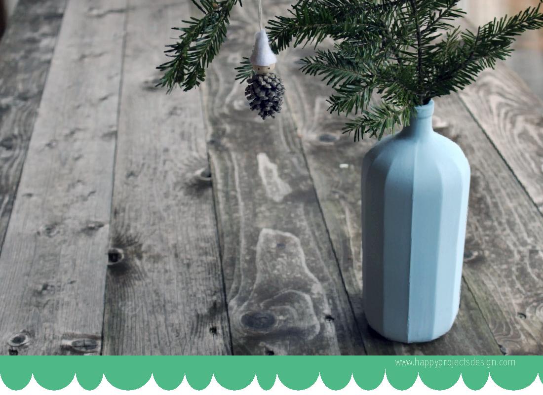 cristal upcycling: chalk paint para vidrio