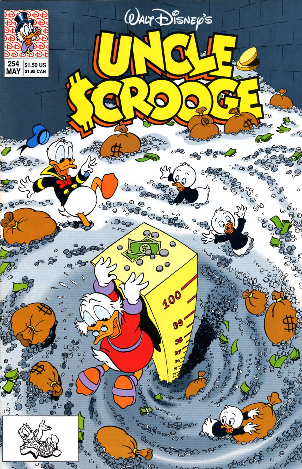 Read online Uncle Scrooge (1953) comic -  Issue #254 - 1