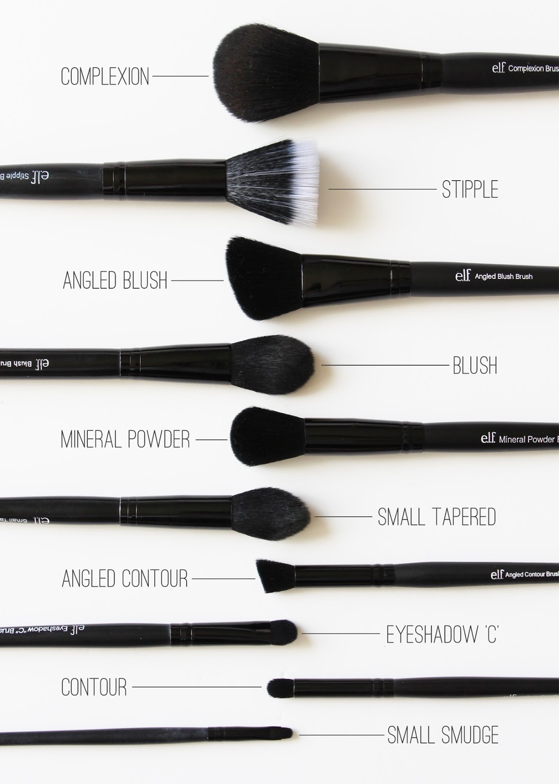 E.L.F. | Studio Brushes [a.k.a. Cheap Brushes That Rock] - CassandraMyee