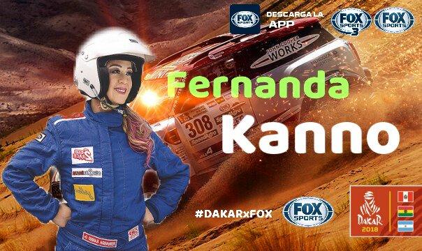 Fernanda Kanno, Dakar 2018