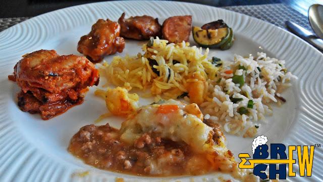 Tangerine - Davanam Sarovar Portico Suites Buffet Lunch