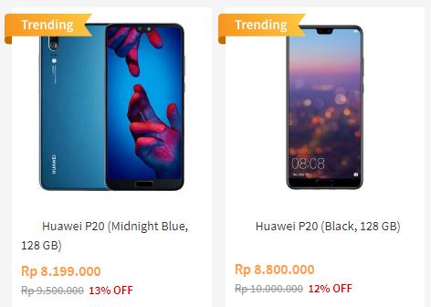 Kekurangan Huawei P20