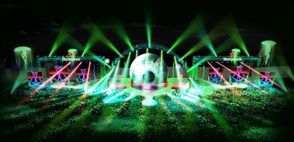 Heineken Green Room lần đầu tiên được tổ chức tại Vũng Tàu