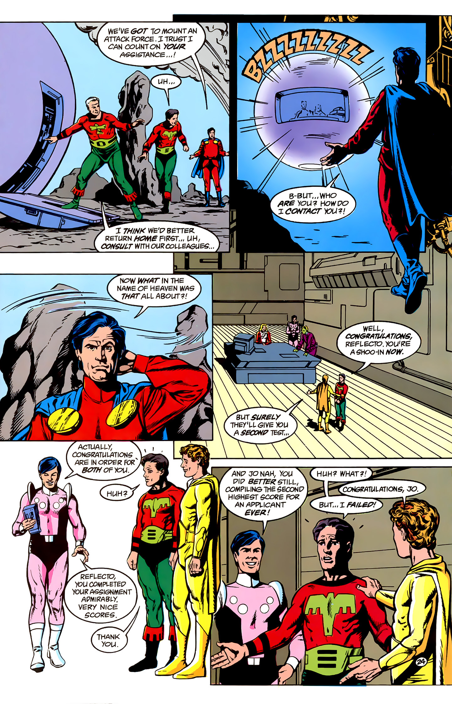 Legion of Super-Heroes (1989) _Annual_1 Page 24