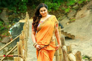 Actress Namitha Stills in Saree from Pulimurugan  0003.jpg