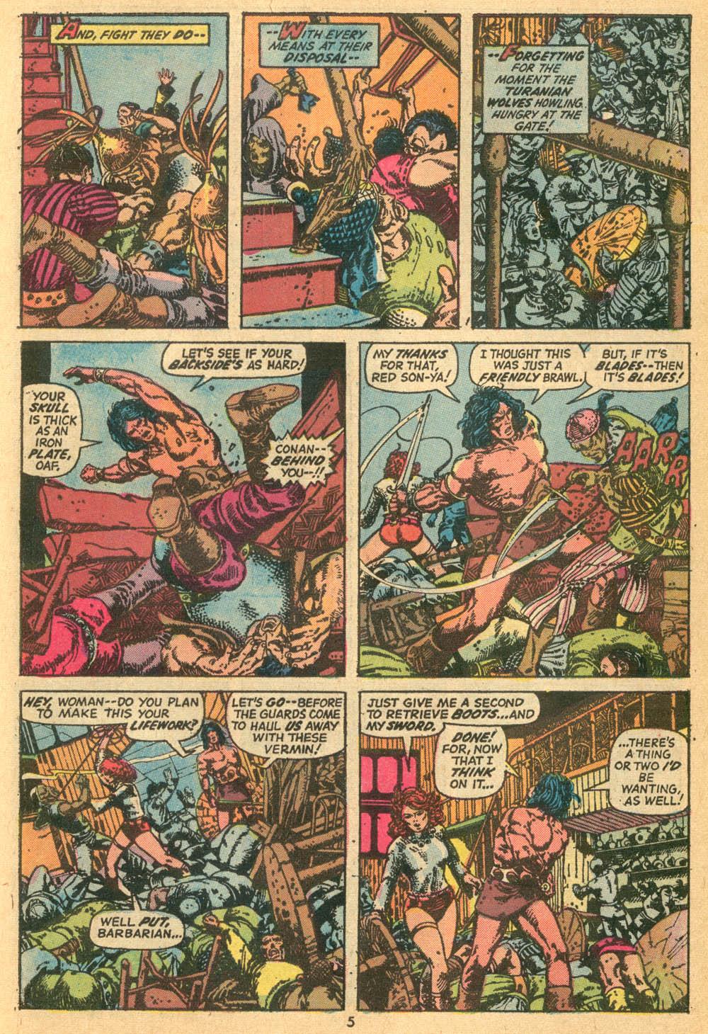 Conan the Barbarian (1970) Issue #24 #36 - English 5