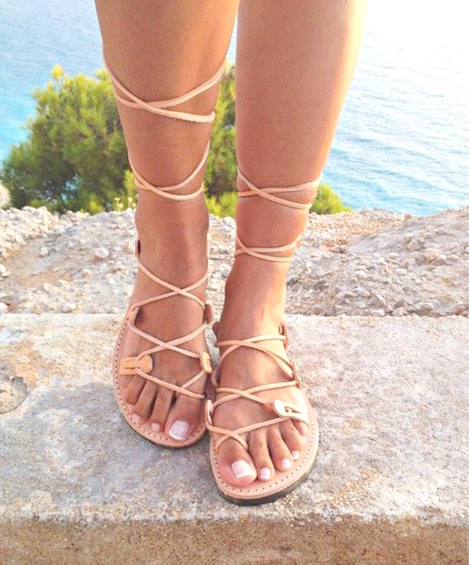 Beautiful summer sandal picks under 100€ - Ioanna's Notebook