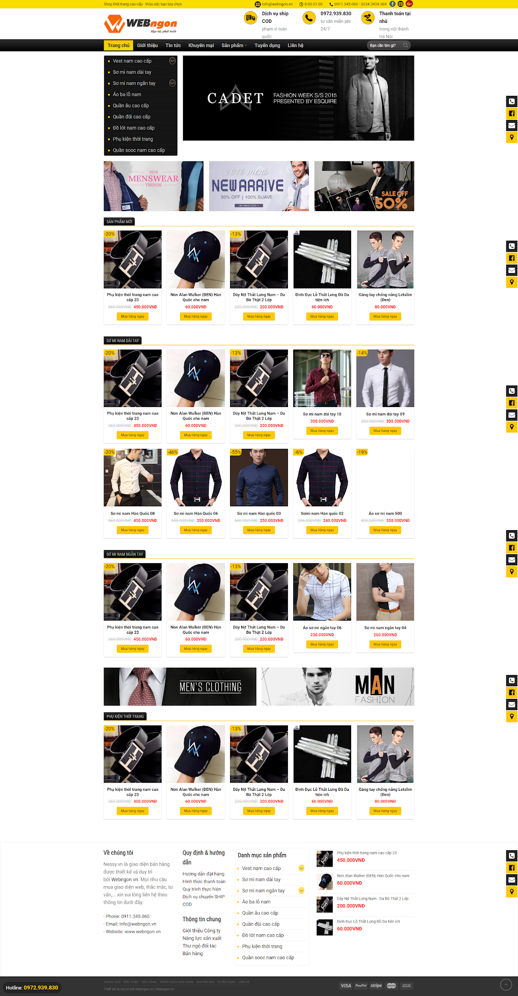 mẫu cửa hàng thời trang wn023