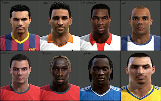 Facepack Pes 2013 by tunizizou