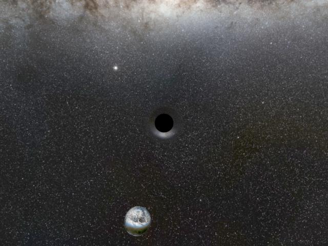 gravitational lensing of a black hole - photo #9