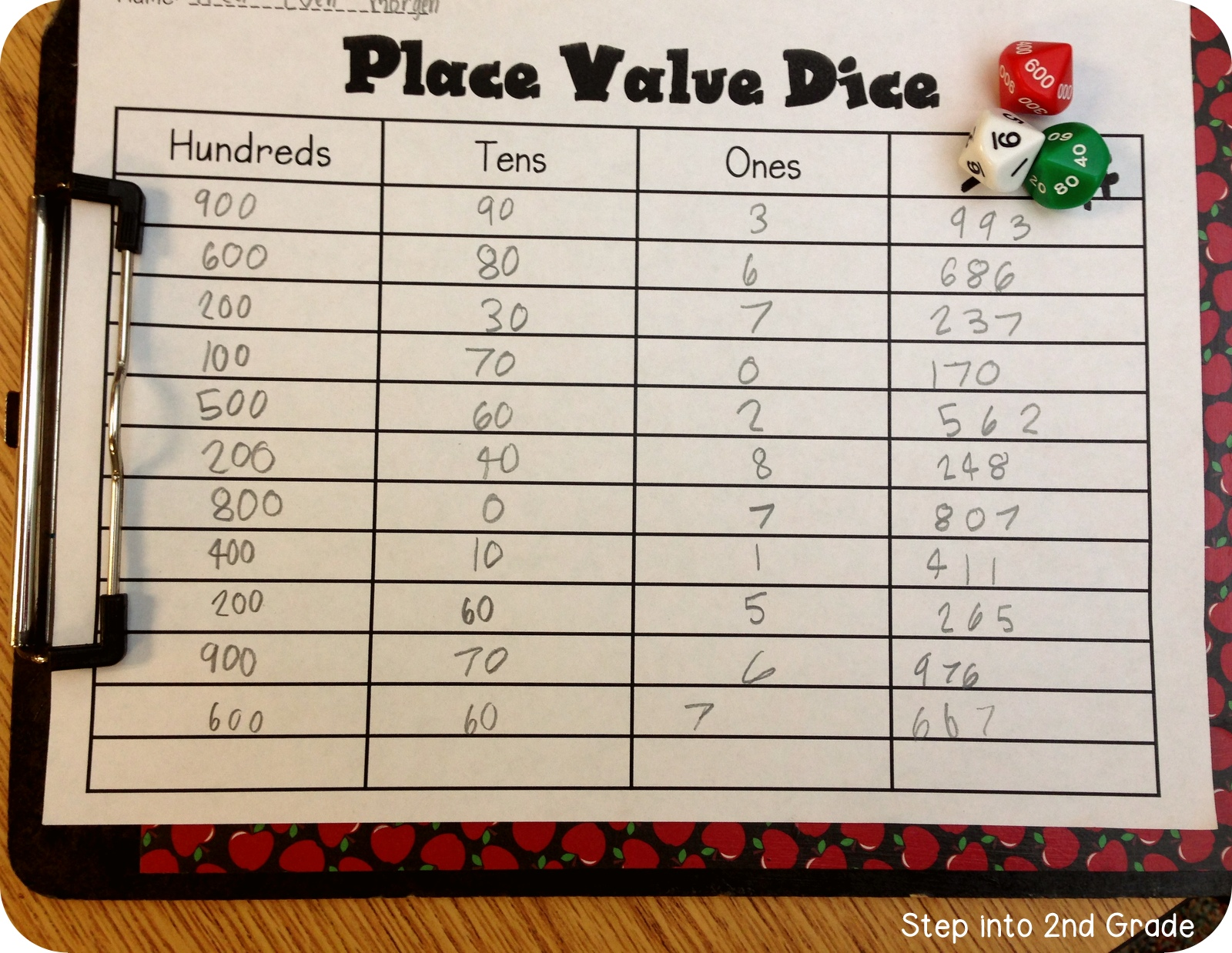 Step Into 2nd Grade With Mrs Lemons More Mudge And Place Value
