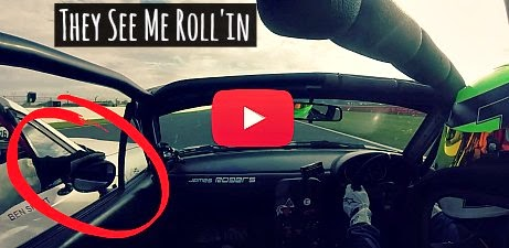 Watch how Racer Turns his Opponent drivers Side Mirror while racing at high speeds via geniushowto.blogspot.com Sports racing videos