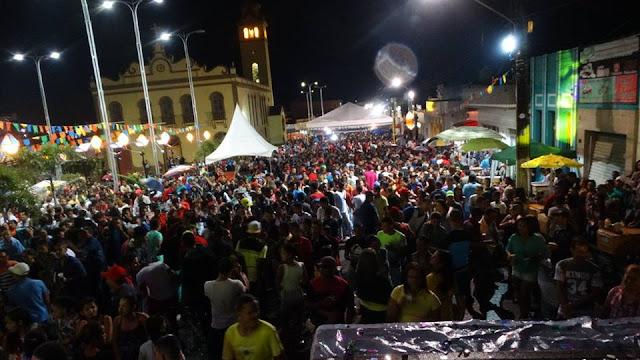 São João 2016: Noite de São João em São Joaquim do Monte.