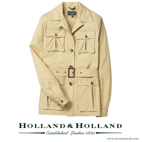 Kate Middleton  wore Holland & Holland Ladies Multipocket Safari Jacket