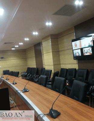 Triển khai lắp đặt hội nghị truyền hình tại công ty EcPay