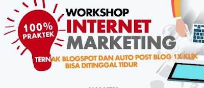 4 Tips Memilih Workshop/Seminar SEO bagi Blogger Pemula