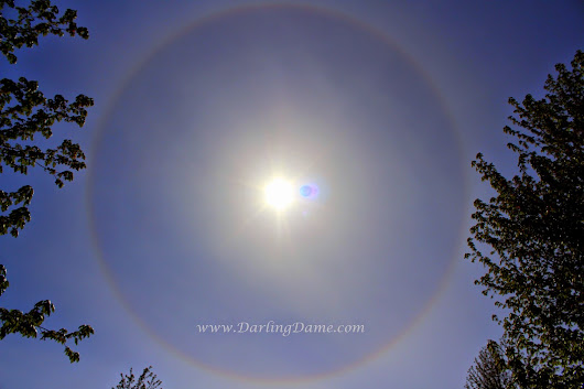 (Not So) Wordless Wednesday Linky #52- Rainbow Around The Sun