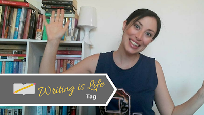 Writing Is Life Tag